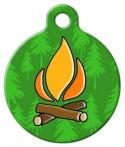 image: Campfire Dog Tag
