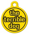 Steelers Terrible Dog ID Tag