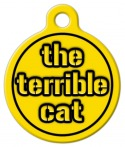 Steelers Terrible Cat ID Tag