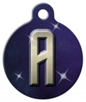 image: Trek Monogram A-Z Pet ID Tag