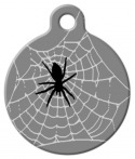 image: Webmaster Lupine Pattern Dog ID Tag