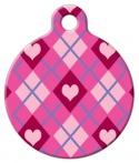 image: Puppy Love Lupine Pattern Pet ID Tag