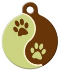 image: Mud Puppy Lupine Pattern Dog Tag for Dogs