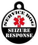 Service Dog - Seizure Response Dog Tag