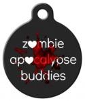 image: Zombie Apocalypse Buddy Pet ID Tag