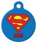 Super Dog Name Tag