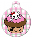 image: One Tough Cupcake Pet ID Tag