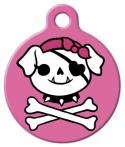 image: Pink Jolly Pup Name Tag