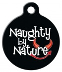 image: Naughty by Nature Dog ID Tag