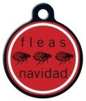 image: Fleas Navidad Dog ID Tag