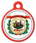 image: West Virginia Pet ID Tag