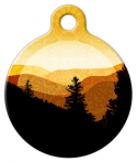 image: Golden Mountains Dog ID Tag