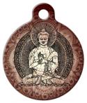 image: Buddha Dog Identity Tag