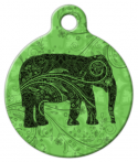image: Indian Elephant Dog ID Tag
