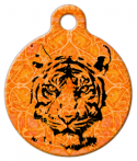 Indian Tiger Pet Identity Tag