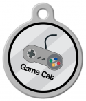 image: Game Cat Identity Tag