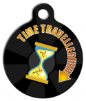 image: Time Traveller Dog ID Tag