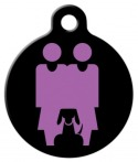 image: Two Mommies and a Dog ID Tag