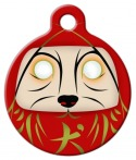 image: Daruma Dog Tag for Dogs