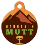 image: Warm Mountain Mutt Pet Tag