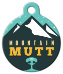 image: Cool Mountain Mutt Pet Tag