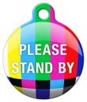 "image: TV Test Pattern ""Please Stand By"" ID Tag"