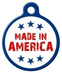 image: Made In America Pet ID Tag