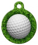 image: Golf Ball Pet ID Tag