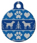image: Tacky Men's Sweater Pet Name Tag