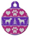 image: Tacky Ladies Sweater Designer Pet ID Tag