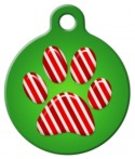 image: Peppermint Paws Pet Name Tag