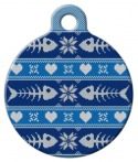 image: Tacky Men's Sweater ID Tag for Cats