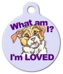 image: Rescue Mutt Dog Identity Tag