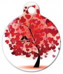 image: Love Birds Pet ID Tag