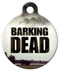 image: Barking Dead Dog Tag