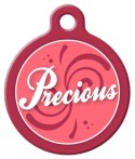 Precious Dog Collar Tag