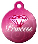image: Diamond Princess Pet ID Tag