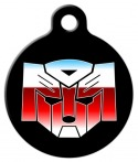 image: Autodogs Transformers Dog ID Tag
