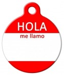 image: Hello My Name Is - SPANISH ID Tag