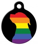 image: Pride Canine ID Tag for Dogs