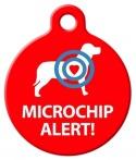 image: Microchip Alert - DOG ID Tag