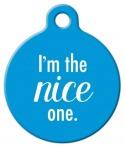 image: Nice One Pet ID Tag