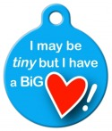 image: Big Heart Dog Tag for Dogs