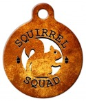 image: Squirrel Squad ID Tag for Dogs or Cats