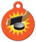 image: Light the Lamp Hockey Pet ID Tag