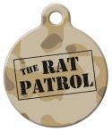 image: Rat Patrol ID Tag