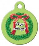 Christmas Wreath ID Tag