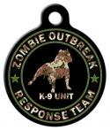image: Zombie Response K9 Unit Camo Pet ID