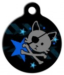 image: Pirate Kitty Cat ID Tag