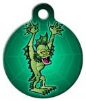 image: Spooky Siyokoy/Merman Pet ID Tag